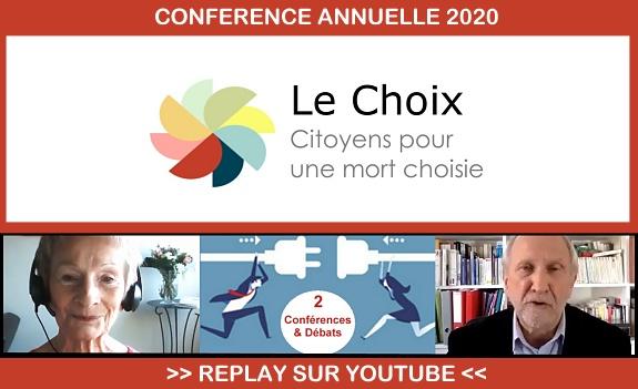 Replay de la conférence Nationale 2020 de l'association le Choix