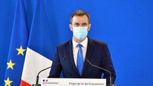 Ministre de la santé Olivier Véran